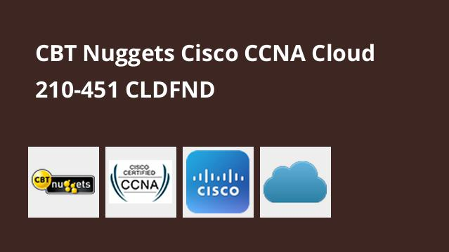 دوره Cisco CCNA Cloud 210-451 CLDFND – گیت
