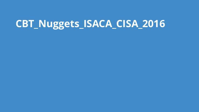 دوره ISACA CISA 2016