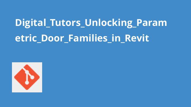 Digital_Tutors_Unlocking_Parametric_Door_Families_in_Revit