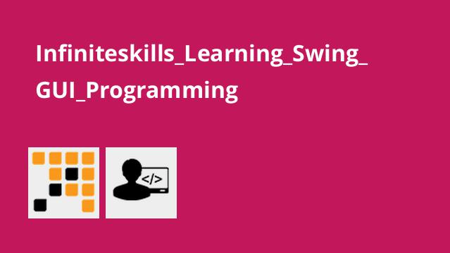 آموزش برنامه نویسی Swing GUI