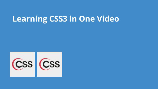 learning-css3-in-one