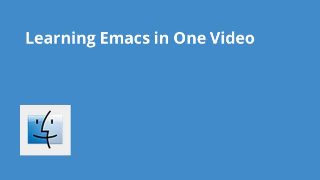 learning-emacs-in-one