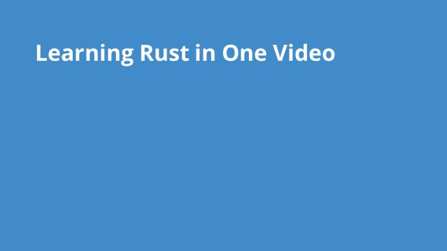 learning-rust-in-video