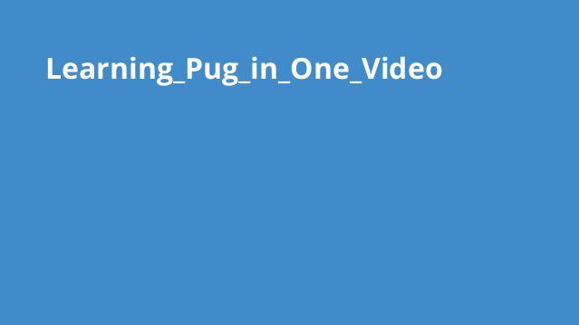 آموزش کامل Jade) Pug) در یک ویدئو