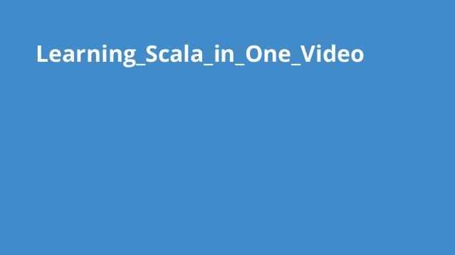 آموزش کامل Scala در یک ویدئو