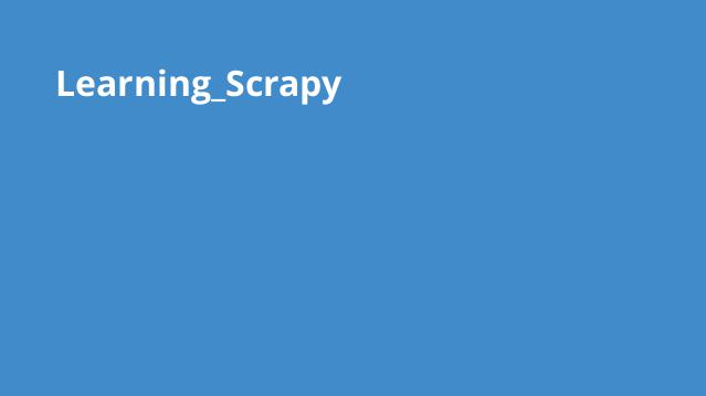 Learning_Scrapy