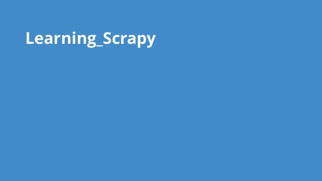 آموزش Scrapy برای استخراج داده از وب
