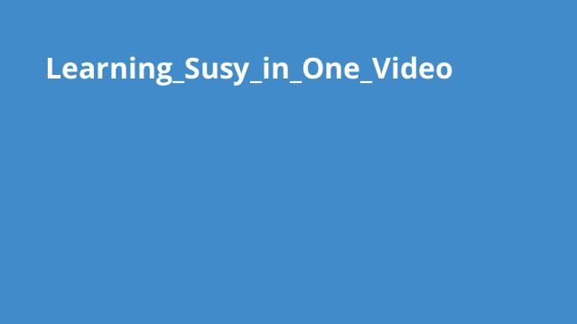 آموزش کامل Susy در یک ویدئو