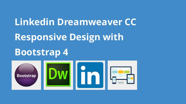 linkedin-dreamweaver-cc-responsive-design-with-bootstrap-4