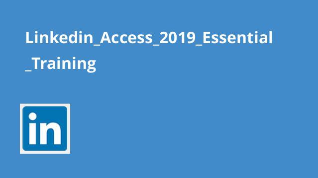 آموزش اصولیAccess 2019