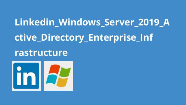 آموزشWindows Server 2019 – زیرساخت سازمانی اکتیو دایرکتوری