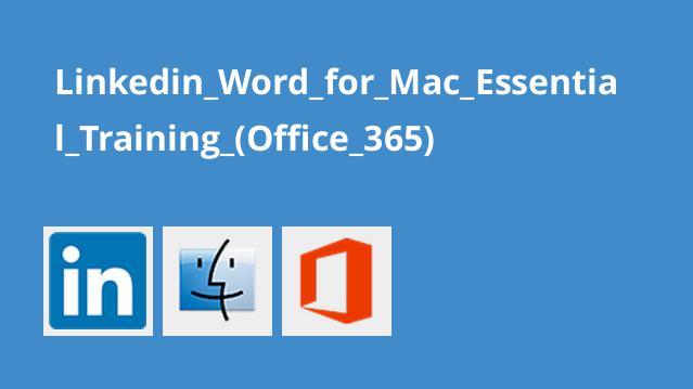 آموزش اصولی Word برای مک (آفیس 365)