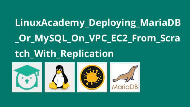 آموزش استقرار MariaDB یا MySQL در VPC EC2 از Scratch با Replication
