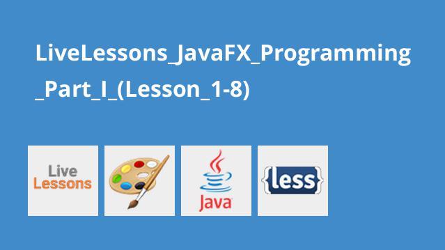 آموزش برنامه نویسی JavaFX قسمت اول درس 1 تا 8