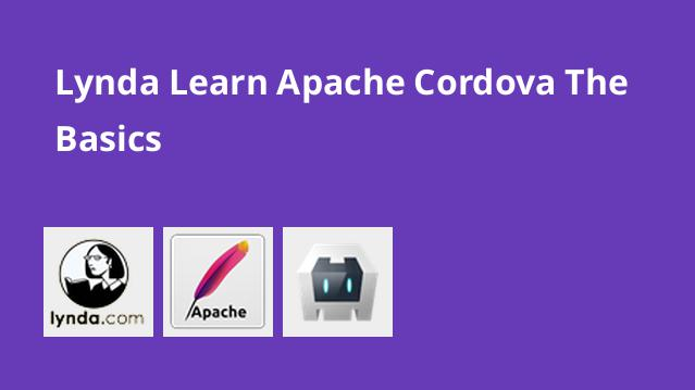 lynda-learn-apache-cordova-the-basics