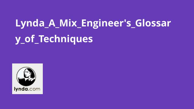 Lynda A Mix Engineer's Glossary of Techniques