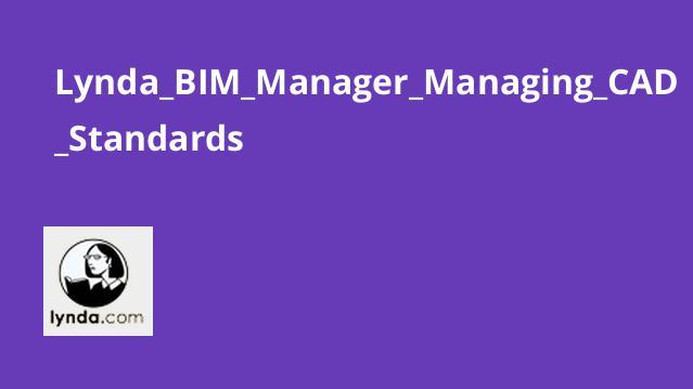 آموزش BIM Manager: مدیریت استانداردهای CAD