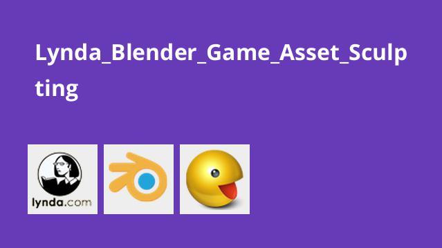 مدل سازی سه بعدی اجزای بازی با Blender