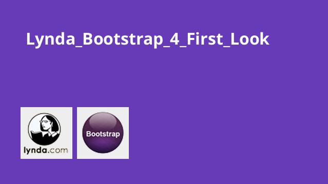 شروع کار با Bootstrap 4
