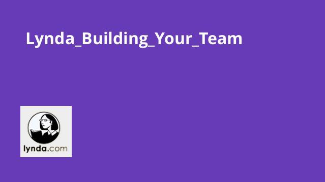آموزش ایجاد تیم