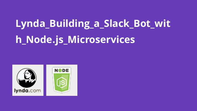 Lynda Building a Slack Bot with Node.js Microservices