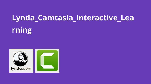 یادگیری تعاملی درCamtasia