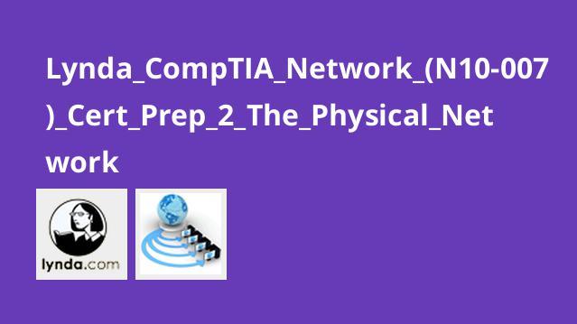 آموزش گواهینامه (CompTIA Network+ (N10-007 – بخش 2 – شبکه فیزیکی