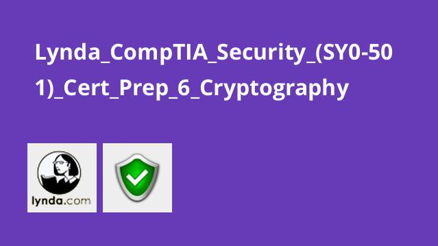 آموزش گواهینامه (CompTIA Security+ (SY0-501 – بخش 6 –رمزنگاری