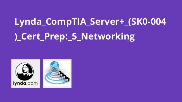 آشنایی با شبکه سازی برای CompTIA Server+ (SK0-004) Cert Prep