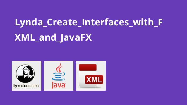 ساخت رابط کاربری با FXML و JavaFX