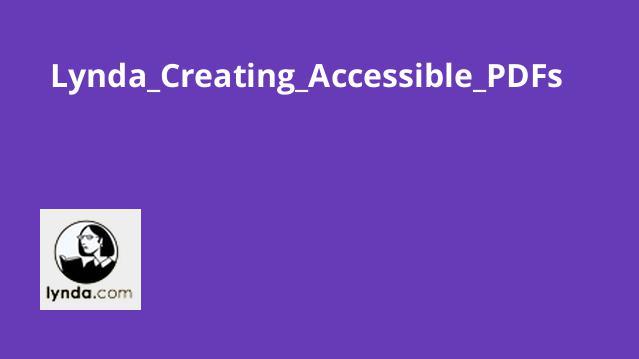آموزش ایجادAccessible PDF