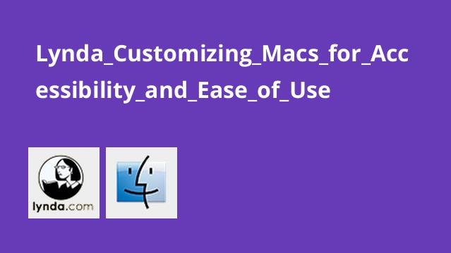 Lynda Customizing Macs for Accessibility and Ease of Use