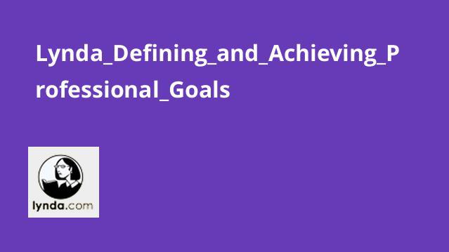 آموزش تعریف و دستیابی به اهداف حرفه ای