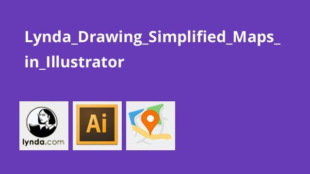 آموزش ترسیم نقشه های ساده در Illustrator