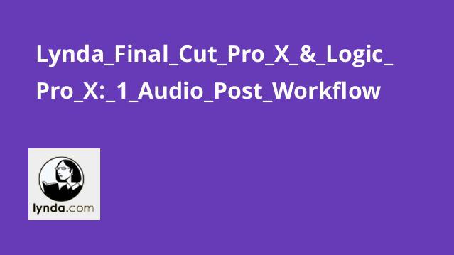 آموزش گردش کار پست صوتی در Final Cut Pro X و Logic Pro X – بخش اول