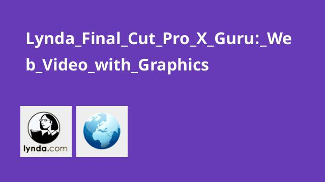 Lynda Final Cut Pro X Guru: Web Video with Graphics