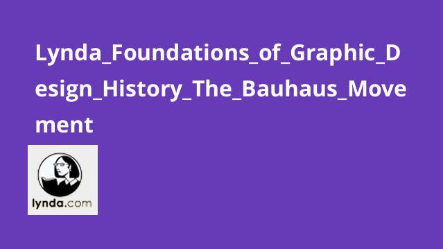 آموزش تاریخچه طراحی گرافیک: جنبش Bauhaus