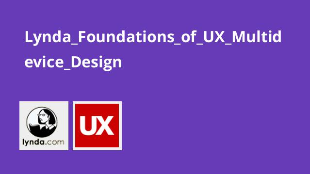 دوره Foundations of UX Multidevice Design