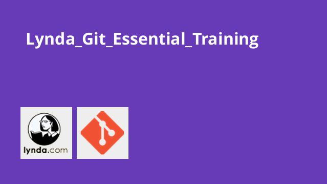 دوره آموزش Lynda Git Essential