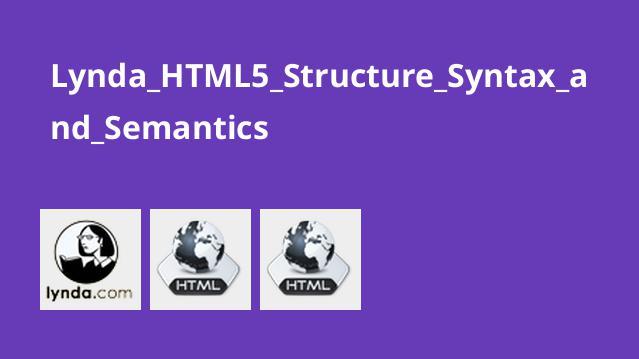 آشنایی با ساختار دستورات HTML5