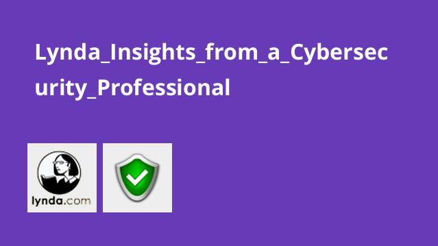 Lynda Insights from a Cybersecurity Professional