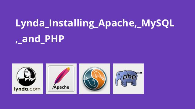 Lynda Installing Apache, MySQL, and PHP