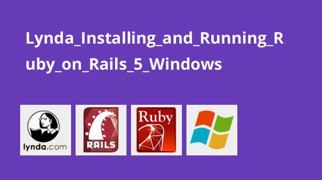 آموزش نصب و اجرای Ruby on Rails 5 در ویندوز