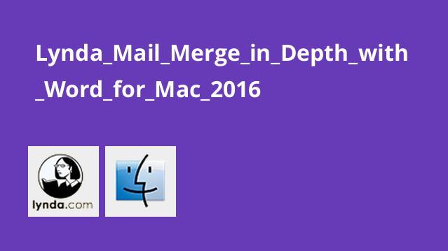 آموزش Mail Merge در نرم افزار Word برای Mac 2016