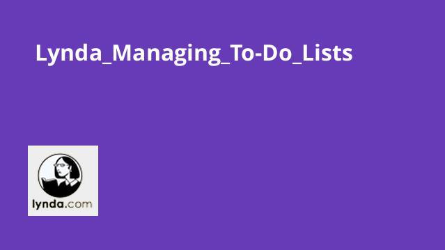 Lynda_Managing_To-Do_Lists