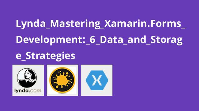 آموزش Xamarin forms بخش  6-  استراتژی های ذخیره سازی و داده