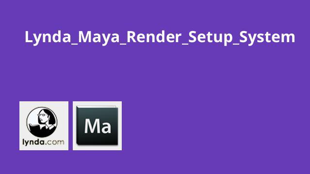 راه اندازی سیستم Render در Maya