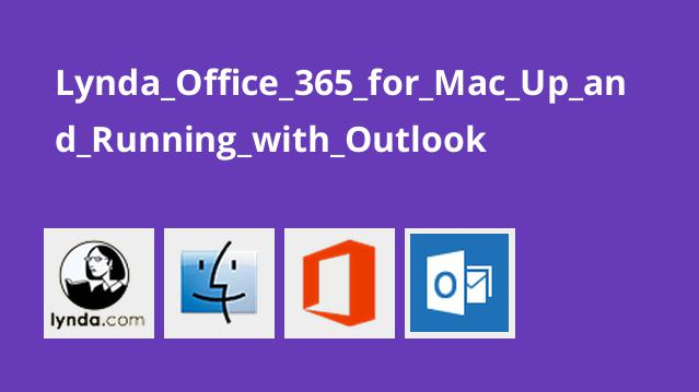 کار با Outlook در Office 365 برای مک