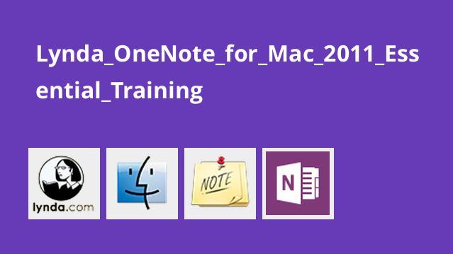 آموزش OneNote برای Mac 2011