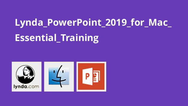 آموش اصولی PowerPoint 2019 برای مک